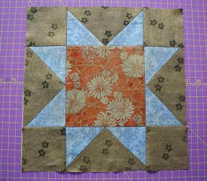 Summer Star Sampler Block 1