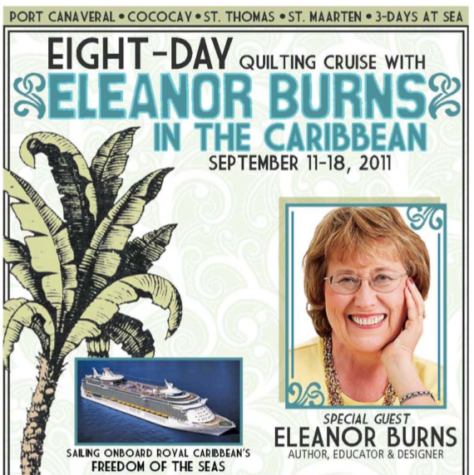 Eleanor Burns Quilting Cruise