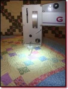 george arm quilting machine
